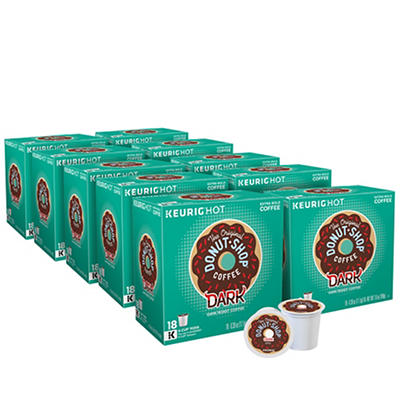 The Original Donut Shop Dark Roast Coffee Keurig Single-Serve K-Cup Po