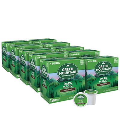 Green Mountain Coffee Roasters Dark Magic Dark Roast Coffee Keurig Single-Serve K-Cup Pods, 10 pk./18 ct.