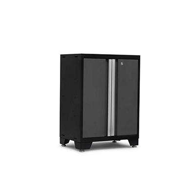 NewAge Products Bold 3.0 Series 2-Door Cabinet - Dark Gray