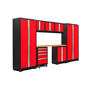 NewAge Products Bold 3.0 Series 8-Pc. Cabinet Set - Red