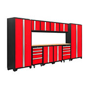 NewAge Products Bold 3.0 Series 12-Pc. Cabinet Set - Red