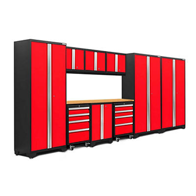 NewAge Products Bold 3.0 Series 10-Pc. Cabinet Set - Red