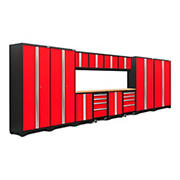 NewAge Products Bold 3.0 Series 14-Pc. Cabinet Set - Red