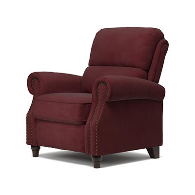 ProLounger Push Back Recliner - Burgundy