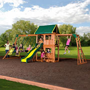 Backyard Discovery Prairie Ridge Swing Set