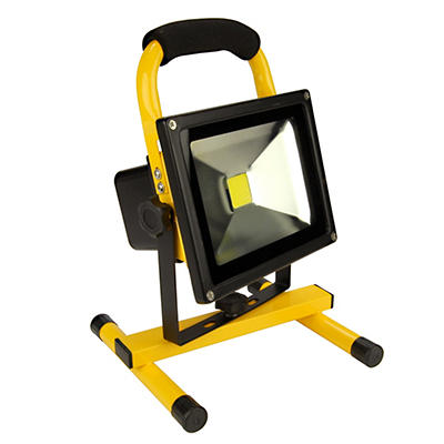 Royal 1,800-Lumen Rechargeable 20W Water-Resistant LED Work Light - Ye