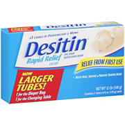 Desitin Rapid Relief Cream, 2 pk./6 oz.