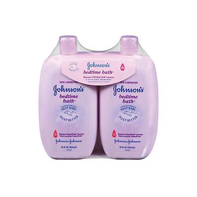 Johnson's Bedtime Bath Gentle Cleanser, 2 pk./28 fl. oz.
