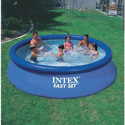 "Intex Easy Set 12' x 30"" Aboveground Round PVC/Vinyl Pool"