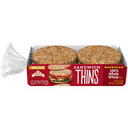 Arnold 100% Wheat Sandwich Thin, 6 ct.
