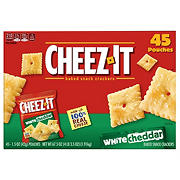 Cheez-It White Cheddar Baked Snacks, 45 ct.