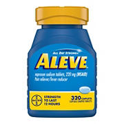 Aleve 220mg Naproxen Sodium Caplets, 320 ct.
