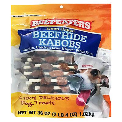 Beefeaters Beefhide Kabobs Dog Treats, 36 oz.