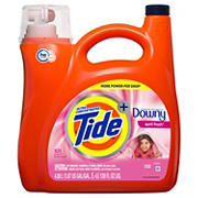 Tide with Downy April Fresh Ultra Concentrated Liquid Laundry Detergent, 138 fl. oz.