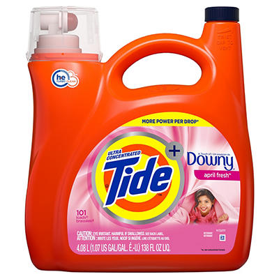 Tide with Downy April Fresh Ultra Concentrated Liquid Laundry Detergen