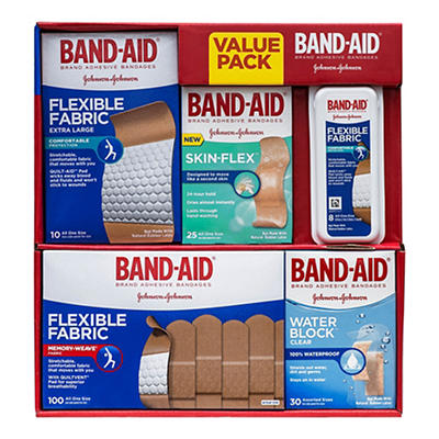BANDAID VALUE PACK 173CT