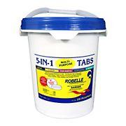 Robelle 5-in-1 Multipurpose Chlorine Tabs, 20 lbs.