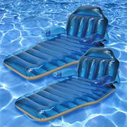 Poolmaster Adjustable Chaise Floating Lounges, 2 pk.