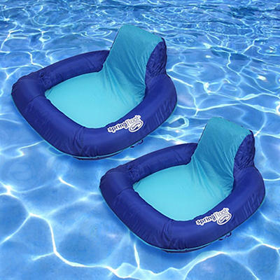 SwimWays Spring Float Sun Seats, 2 pk.
