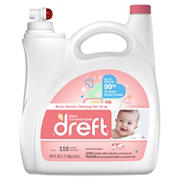 Dreft Ultra Concentrated Liquid Laundry Detergent, 150 fl. oz.
