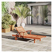 Amazonia Cayman Eucalyptus Chaise Lounges, 2 pk. - Brown
