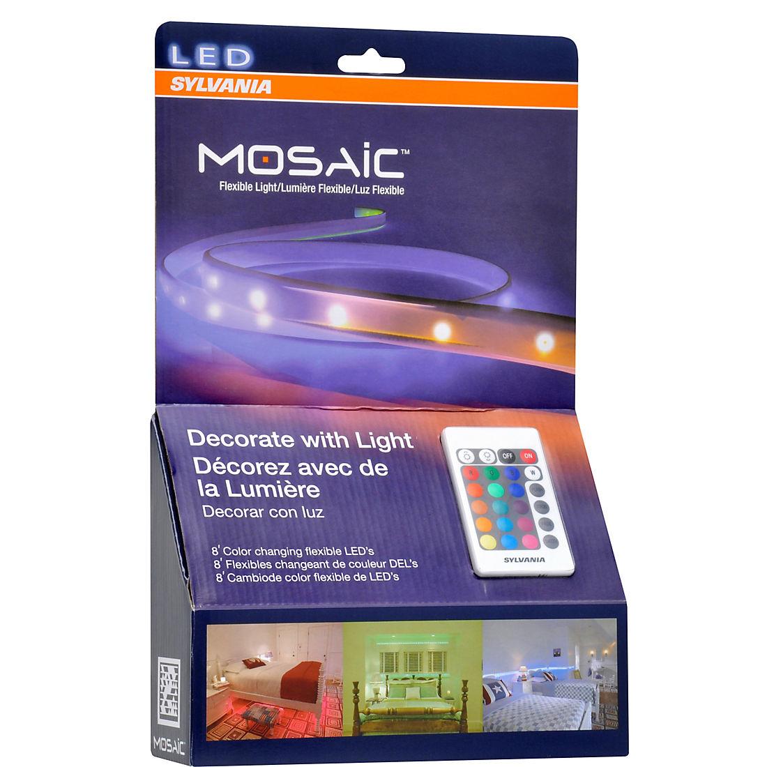 Sylvania Mosaic Color Changing Led Strip Lights 4 Pk