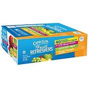 Capri Sun Fruit Refreshers Variety Pack, 40 pk./6 oz.