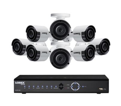 4k Video Camera >> Lorex 8 Channel 8 Camera 4k Security System With 2tb Hdd Nvr Bjs
