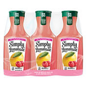 Simply Lemonade with Raspberry Refreshment Bottles, 3 pk./52 fl. oz.