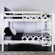 W. Trends Twin-Size Bunk Bed - White