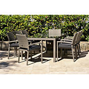 Atlantic Panama 9-Pc. Outdoor Dining Set - Gray