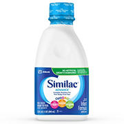 Similac Advance Ready to Feed Infant Formula with Iron, 8 pk./1 qt.