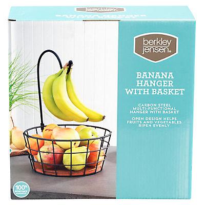 Berkley Jensen Banana Hanger with Basket