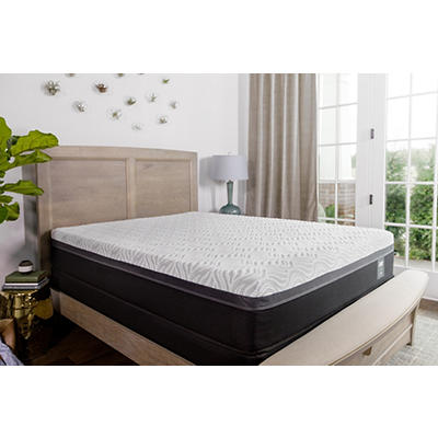 Sealy Essentials Trust II Firm Split California King Size Mattress wit