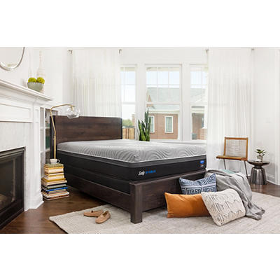 Sealy Performance Copper II Plush California King Size Mattress with B