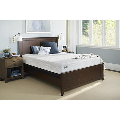 Sealy Conform Essentials Optimistic Plush Twin Size Mattress with Whit