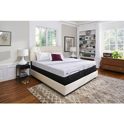 Sealy Performance Thrilled Plush California King Size Mattress with Bo