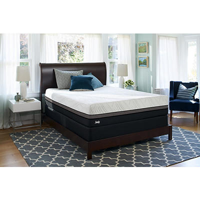 Sealy Premium Gratifying Firm Queen Size Mattress with Bonus $100 BJ's