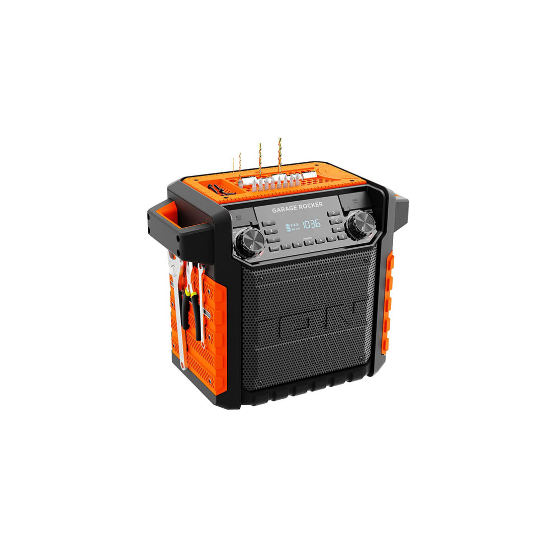 ION Audio Garage Rocker Wireless Water-Resistant Speaker