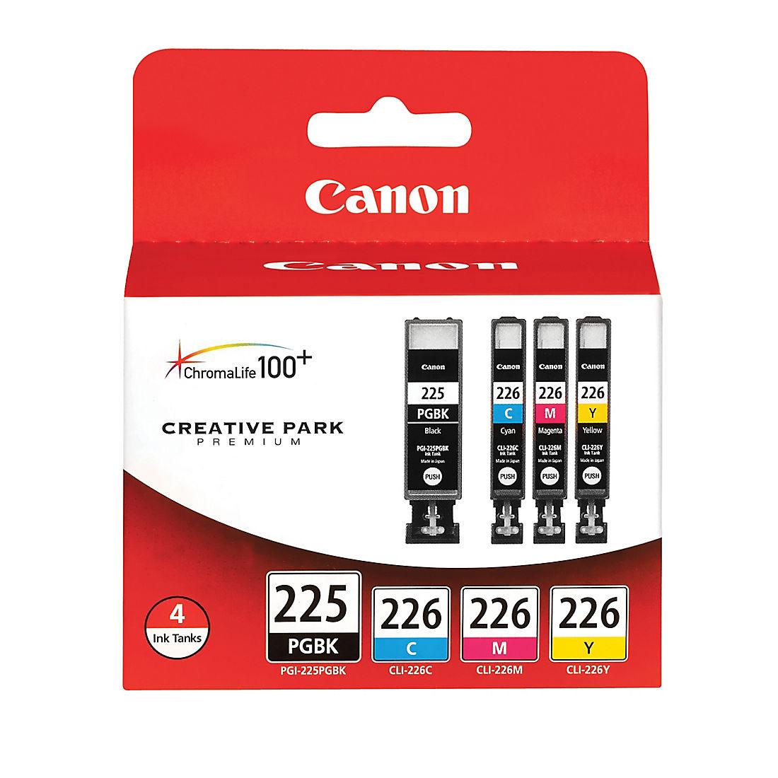 3 pack PGI225 Black ink Cartridge fits Canon PIXMA iP4820 MG5120 Printer