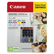 Canon CLI-251XL Combo Ink Cartridges, 4 Pack