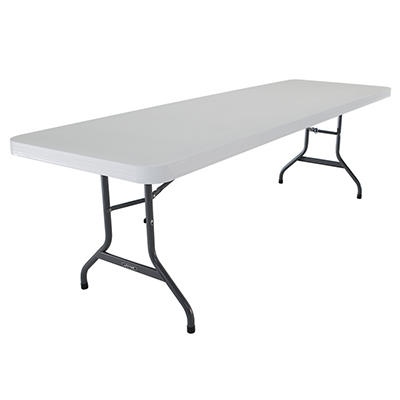 Lifetime 8' Commercial Folding Tables, 21 pk. - White/Granite