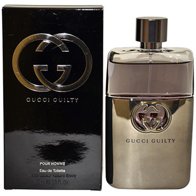 Gucci 3 oz.Gucci Guilty Pour Homme Eau De Toilette Spray