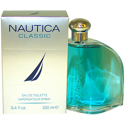 Nautica Classic Eau De Toilette Spray, 3.4 oz.