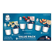 Gerber Yogurt Blends Snack Assortment, 12 pk./3.5 oz.