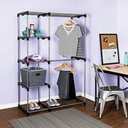 Honey-Can-Do Double Rod Freestanding Closet