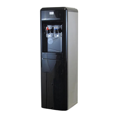 Aquverse Commercial-Grade Hot and Cold Bottleless Water Station - Blac