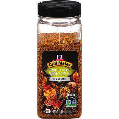 McCormick Grill Mates Roasted Garlic and Herb Seasoning, 15 oz.