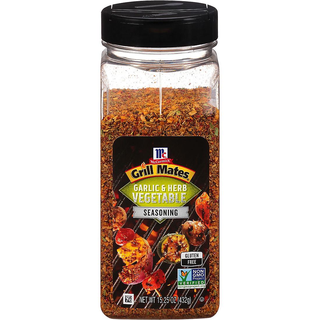 McCormick Grill Mates Roasted Garlic and Herb Seasoning, 15 oz