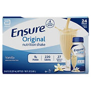 Ensure Original Vanilla Nutrition Shake, 24 pk./8 fl. oz.